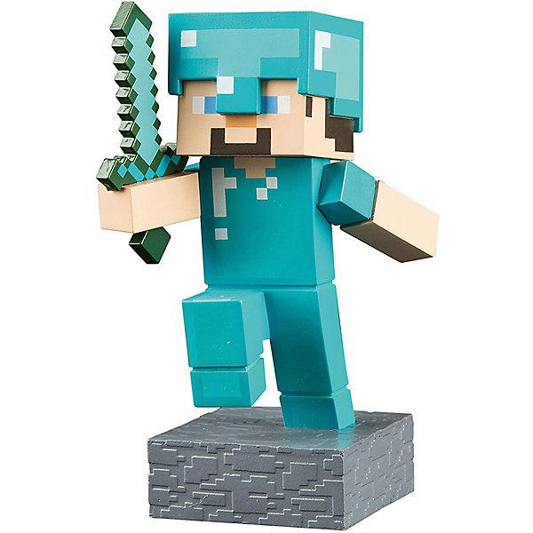 фигурка minecraft ender dragon размах крыльев 52 см Minecraft Фигурка Minecraft Adventure Steve, 10 см
