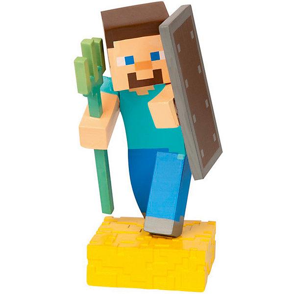 фигурка minecraft ender dragon размах крыльев 52 см Minecraft Фигурка Minecraft Adventure figures Steve 4 серия, 10 см