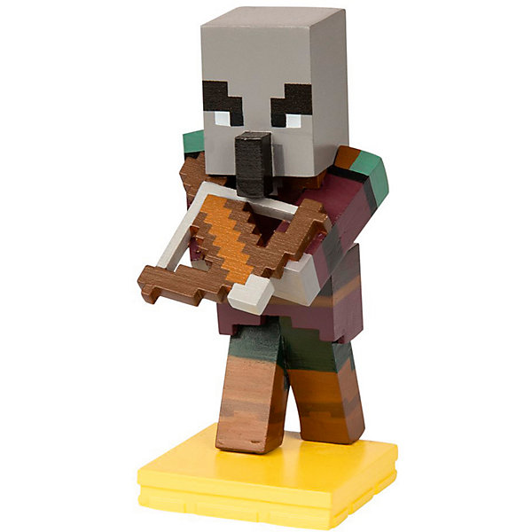 фигурка minecraft ender dragon размах крыльев 52 см Minecraft Фигурка Minecraft Adventure figures Pillager 4 серия, 10 см