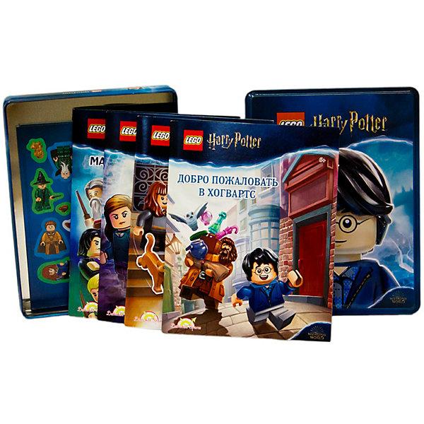 Набор книг с наклейками LEGO Harry Potter, 4 шт