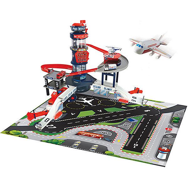 Dickie Toys Игровой набор Dickie Toys Аэропорт, свет, звук dickie toys игровой набор dickie toys побег из тюрьмы свет звук