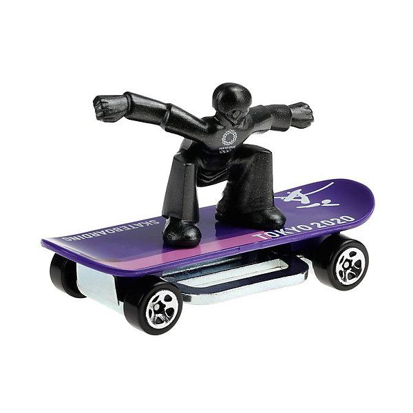 Купить Базовый скейтборд Hot Wheels Skate Grom, Mattel, Китай, разноцветный, Женский