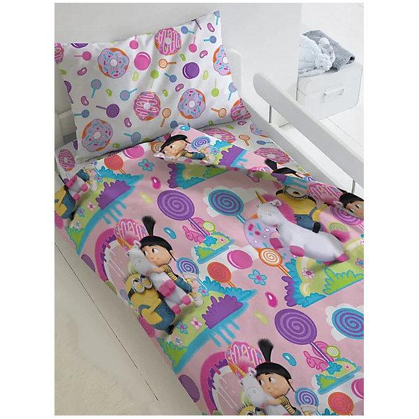 Непоседа Комплект постельного белья 1,5 сп Непоседа Миньоны Радужный мир, наволочка 70х70 см