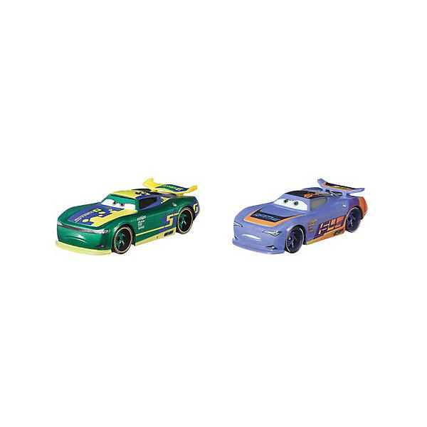 """Набор машинок Cars """"Герои мультфильмов"""" Эрик Педалли и Барри ДеПедал Mattel 16480677"""