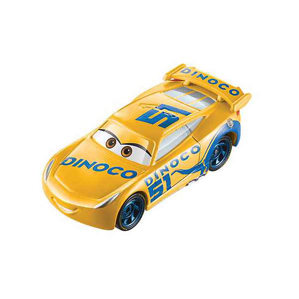 Mattel Машинка Cars Крус Рамирес Диноко, меняет цвет