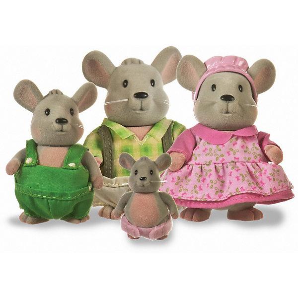 Фото - Li'l Woodzeez Игровой набор Li'l Woodzeez Семья мышат игровые наборы lil woodzeez набор игровой семья коал