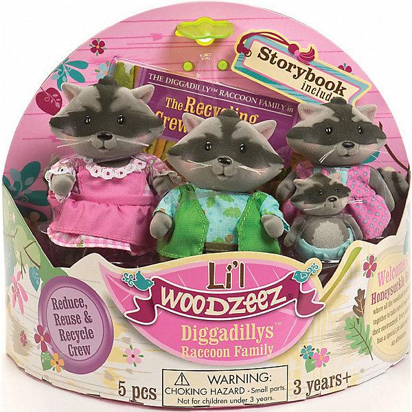 Фото - Li'l Woodzeez Игровой набор Li'l Woodzeez Семья енотов игровые наборы lil woodzeez набор игровой семья коал
