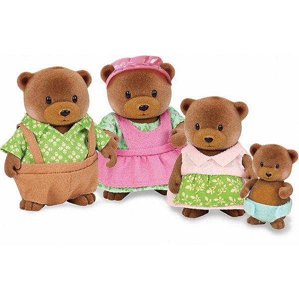 Фото - Li'l Woodzeez Игровой набор Li'l Woodzeez Семья медвежат игровые наборы lil woodzeez набор игровой семья коал