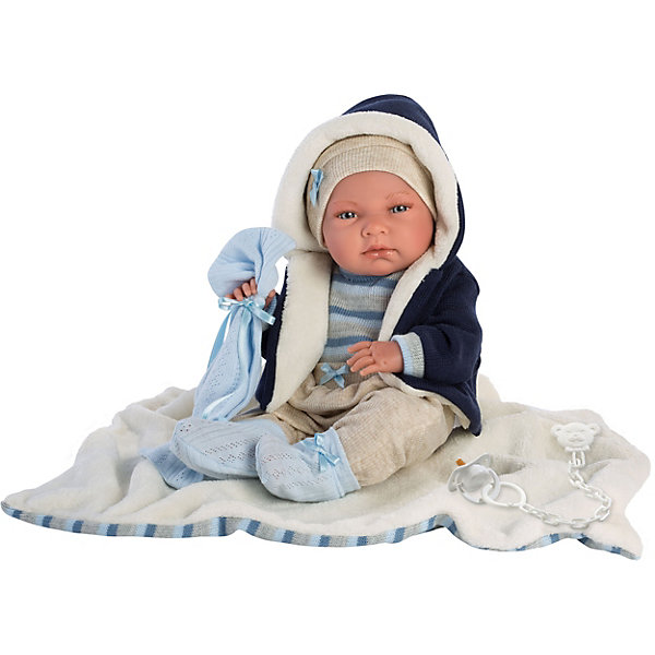 Llorens Кукла младенец Ники 40 см