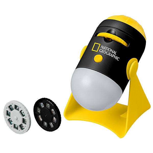 Купить Проектор-ночник Bresser National Geographic, Китай, черный/желтый, Унисекс