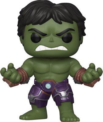 Мстители Фигурка Funko POP! Bobble: Marvel: Avengers Game: Халк, 47759 funko фигурка funko pop bobble marvel avengers game тор 47758