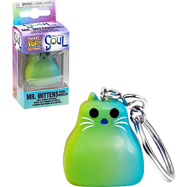 Funko Брелок Funko Pocket POP! Keychain: Disney: Soul: Мистер Миттенс, 47945-PDQ funko рюкзак funko disney minnie bow mini