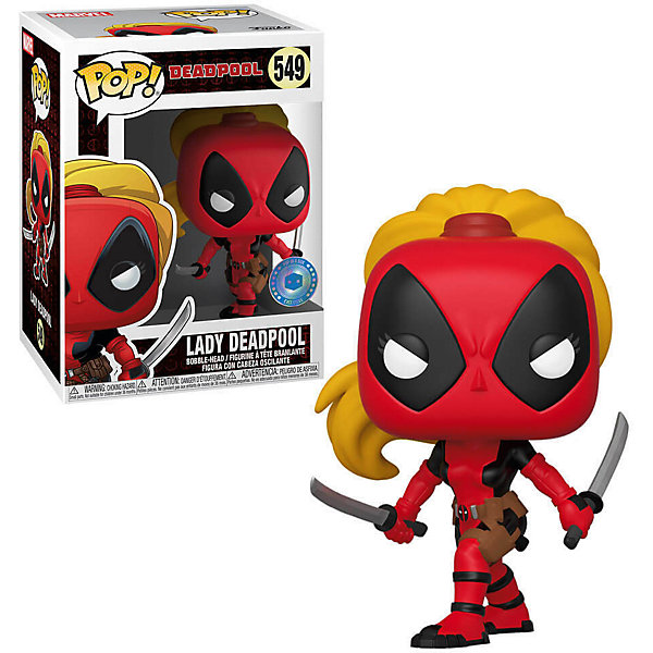 Funko Фигурка Funko POP! Bobble: Marvel: Marvel 80th: Леди Дедпул, 44333