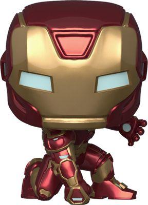 Железный человек Фигурка Funko POP! Bobble: Marvel: Avengers Game: Железный человек, 47756 funko фигурка funko pop bobble marvel avengers game тор 47758