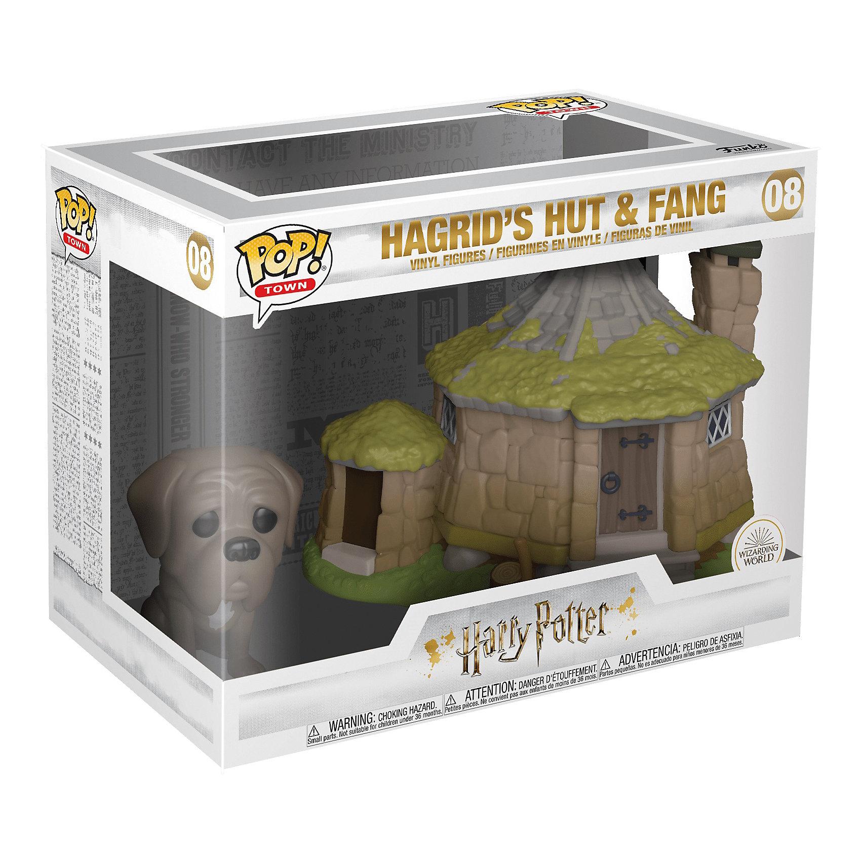 Фигурки Funko POP! Vinyl: Town: Harry Potter: Пёс Клык и дом Хагрида 44230 по цене 3 490