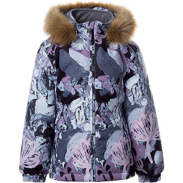 Купить Утепленная куртка Huppa Marii, Китай, черный, 134, 140, 110, 116, 122, 128, Женский