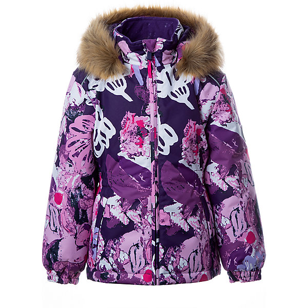 Купить Утепленная куртка Huppa Marii, Китай, лиловый, 140, 110, 116, 122, 128, 134, Женский