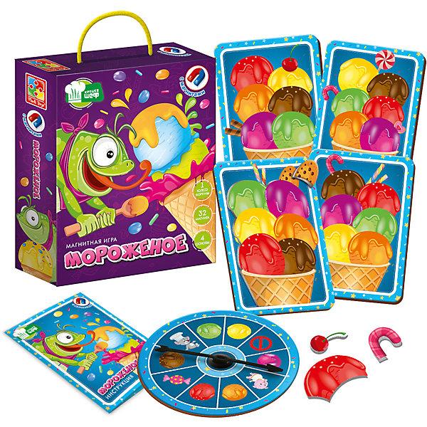Купить Магнитная игра Vladi Toys Мороженое, Украина, Унисекс
