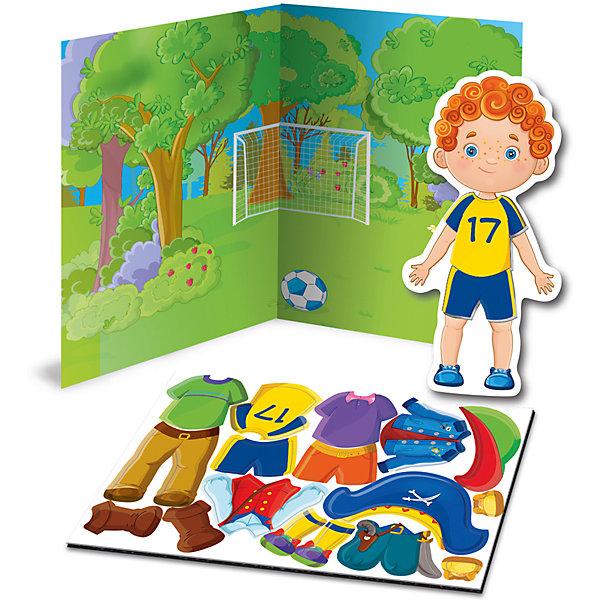 Купить Магнитная игра-одевашка Vladi Toys Мальчик, Украина, Унисекс