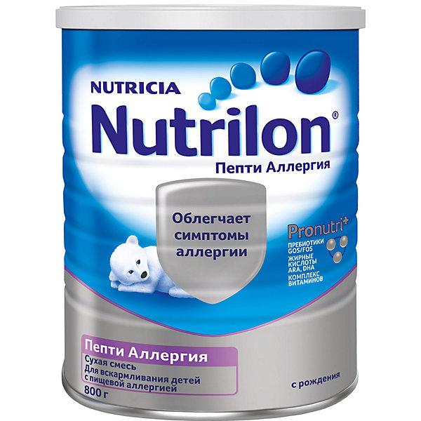 Nutrilon Специальная молочная смесь Nutrilon Пепти Аллергия с 0 мес, 6 шт по 400 г