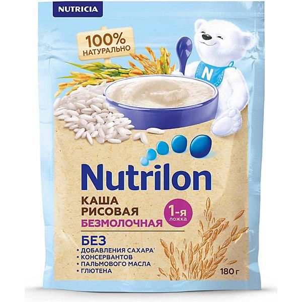 Nutrilon Безмолочная каша NUTRILON БК РИСОВАЯ (6X6) 180 г