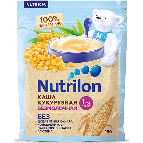Nutrilon Безмолочная каша Nutrilon кукурузная с 5 мес, 6 шт по 180 г