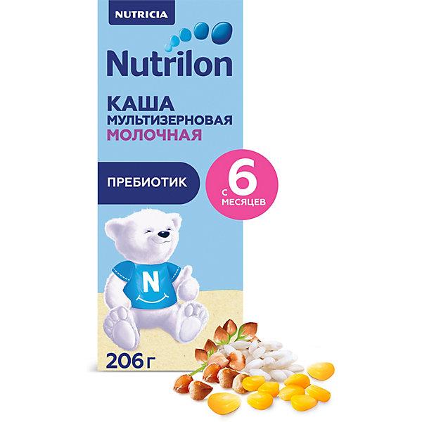 Купить Жидкая молочная каша NUTRILON мультизлаковая с 6 мес, 206 г х 9 шт, Россия, Унисекс