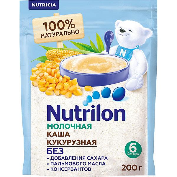 Nutrilon Молочная каша Nutrilon кукурузная с 6 мес, 6 шт по 200 г
