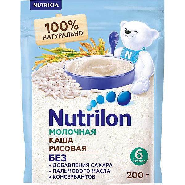 Nutrilon Молочная каша Nutrilon рисовая с 6 мес, 6 шт по 200 г