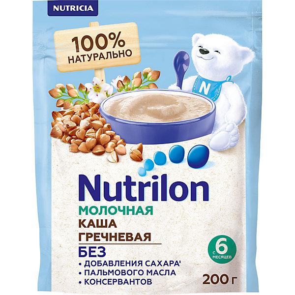 Nutrilon Молочная каша Nutrilon гречневая с 6 мес, 6 шт по 200 г