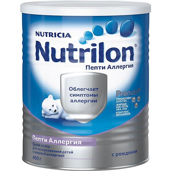 Nutrilon Специальная молочная смесь Nutrilon Пепти Аллергия с 0 мес, 24 шт по 400 г