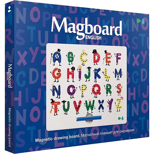 Назад к истокам Магнитный планшет для рисования Назад к истокам Magboard English графический планшет для рисования genius easypen i405x рабочая зона 4х5 5 дюймов стилус разрешение 2560dpi скорость 100dps горячих клавиш 28