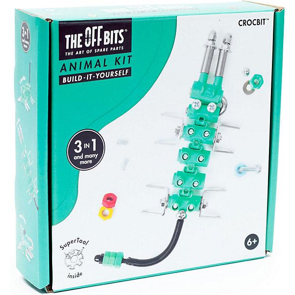 Купить Конструктор The Offbits Crocbit, 60 элементов, Китай, разноцветный, Унисекс