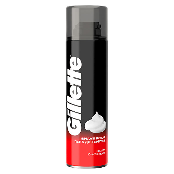 Купить Пена для бритья Gillette Classic Классическая 200мл, Великобритания, Унисекс