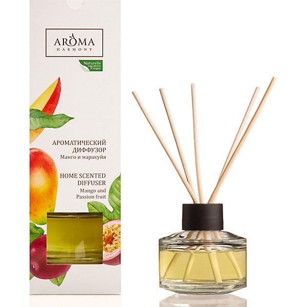 Aroma Harmony Диффузор ароматический Aroma Harmony Манго и маракуйа, 50 мл wax lyrical диффузор манго и