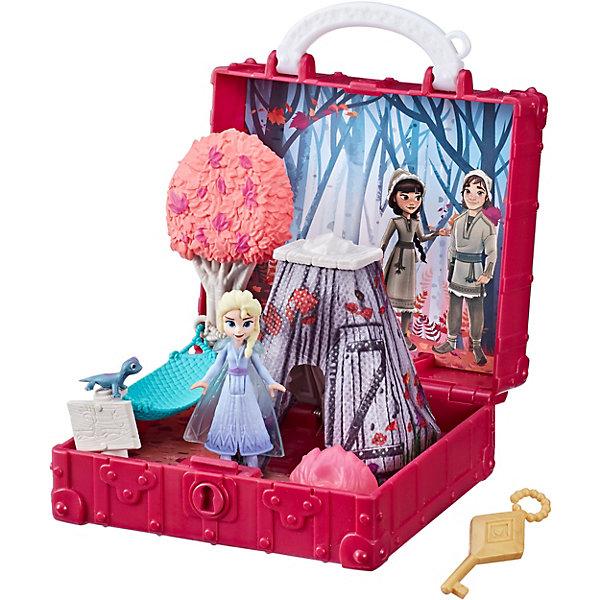 Купить Игровой набор Disney Холодное сердце 2: Шкатулка, Hasbro, Китай, разноцветный, Женский