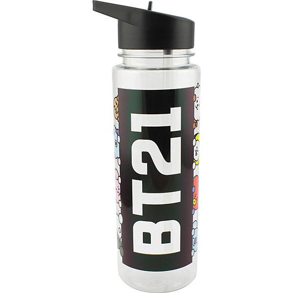 Paladone Бутылка для воды Paladone BT21, 650 мл, PP6246BT scitec nutrition бутылка для воды water jug 1890 мл