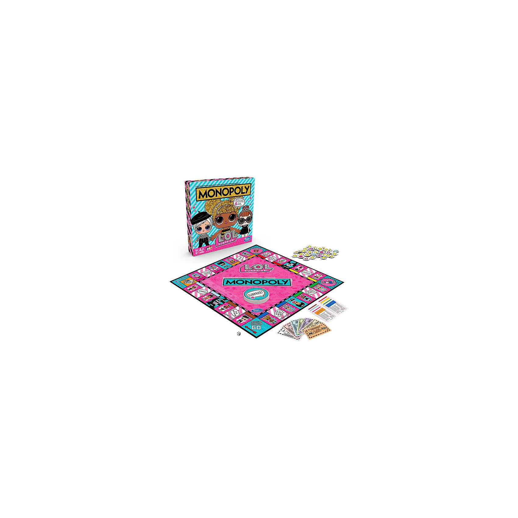 """Настольная игра Hasbro Gaming """"Монополия"""" LOL Surprise фото 2"""