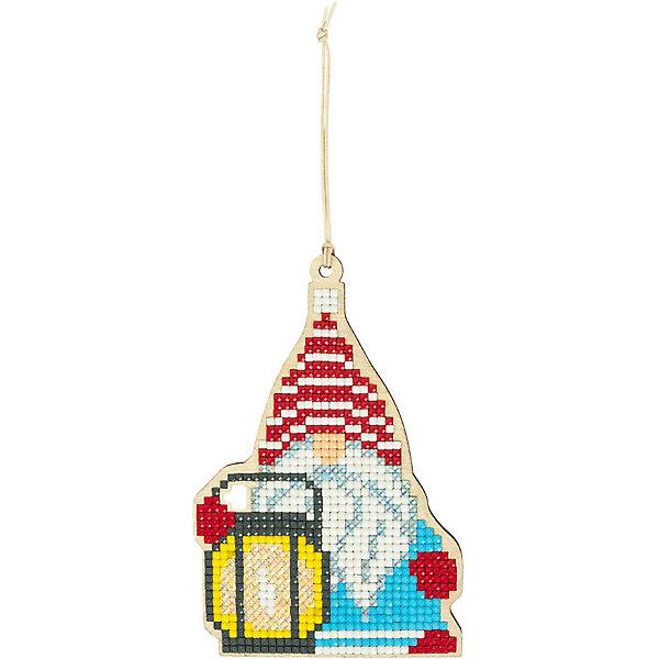 Купить Кристальная мозаика Фрея Гномик с фонариком , Россия, Унисекс