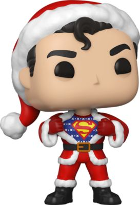 Funko POP! Фигурка Funko POP! Vinyl: DC: Holiday: Супермен со свитером, 50651 funko pop фигурка funko pop vinyl dc holiday рудольф флэш 50654
