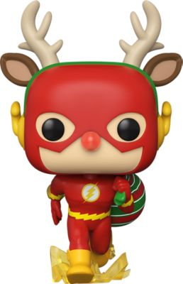Funko POP! Фигурка Funko POP! Vinyl: DC: Holiday: Рудольф Флэш, 50654 funko pop фигурка funko pop vinyl dc holiday рудольф флэш 50654