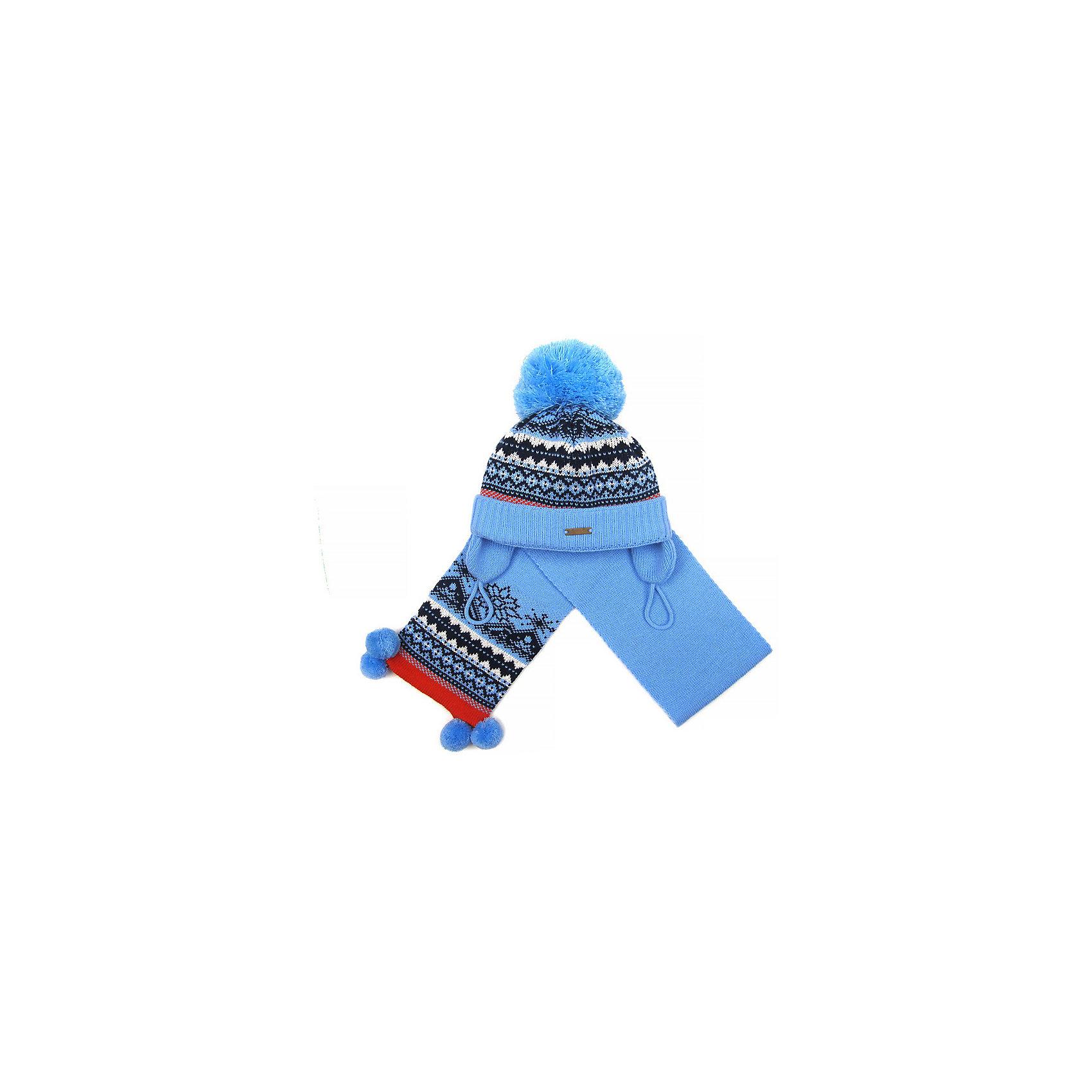 Комплект Gakkard: шапка и шарф фото 2