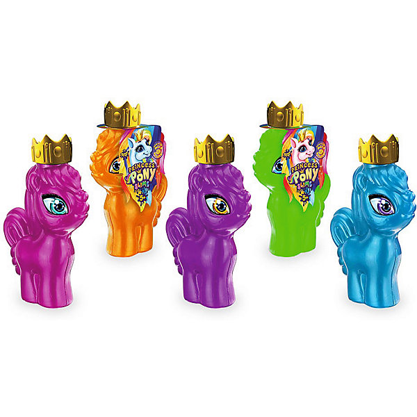 Danko Toys Вязкая масса Princess Pony Slime «Надувай Мега пузыри»