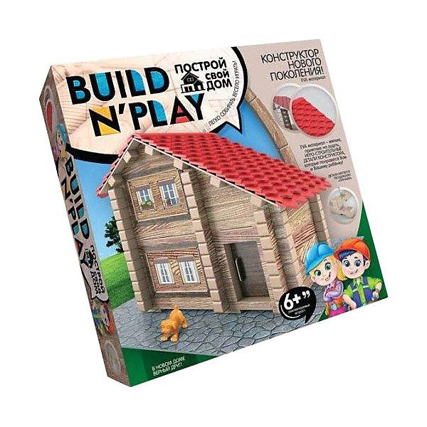 Конструктор Danko Toys Build'n'Play «Домик из изолоновых деталей»