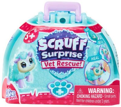 WORLDS APART Коллекционная игрушка Worlds Apart Scruff Surprise Вылечи зверушку