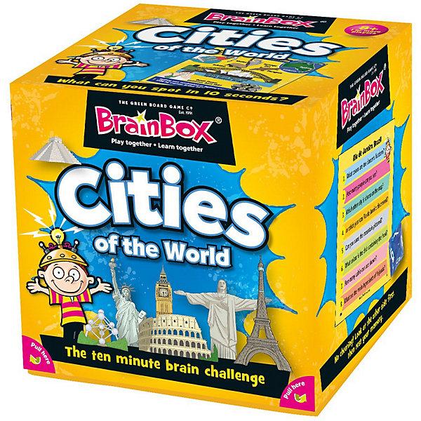 """Сундучок знаний Настольная игра BrainBox Сундучок знаний """"Города"""" на английском языке """"Cities"""""""