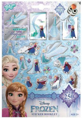 TOTUM Набор для творчества Totum Frozen Sheets sticker book 4