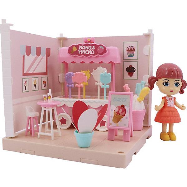 Купить Игровой набор Funky Toys Милый уголок Кафе-мороженое , Китай, разноцветный, Женский