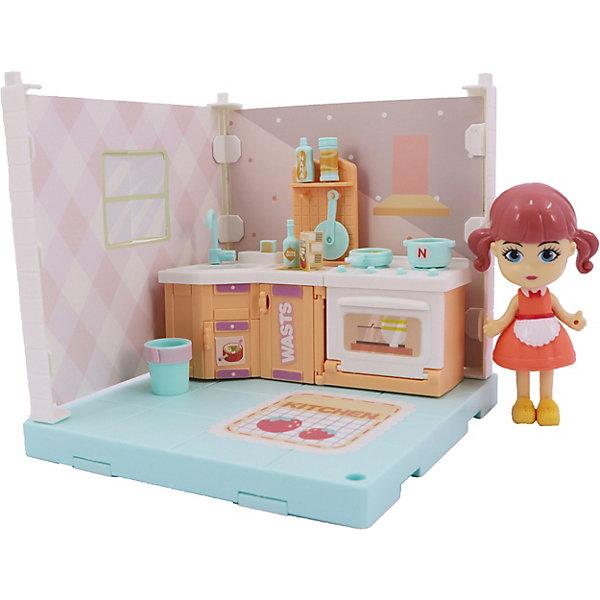 Игровой набор Funky Toys Милый уголок Кухня , Китай, разноцветный, Женский  - купить со скидкой