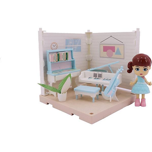 Купить Игровой набор Funky Toys Милый уголок Музыкальная комната , Китай, разноцветный, Женский